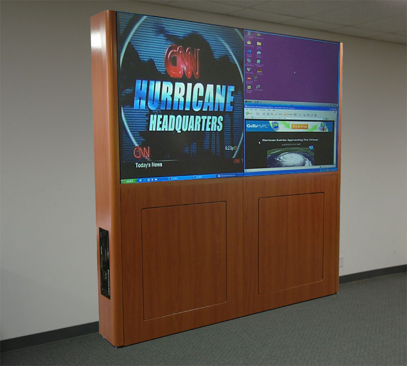 Visionmaster LCD Video Wall with Scalable Images