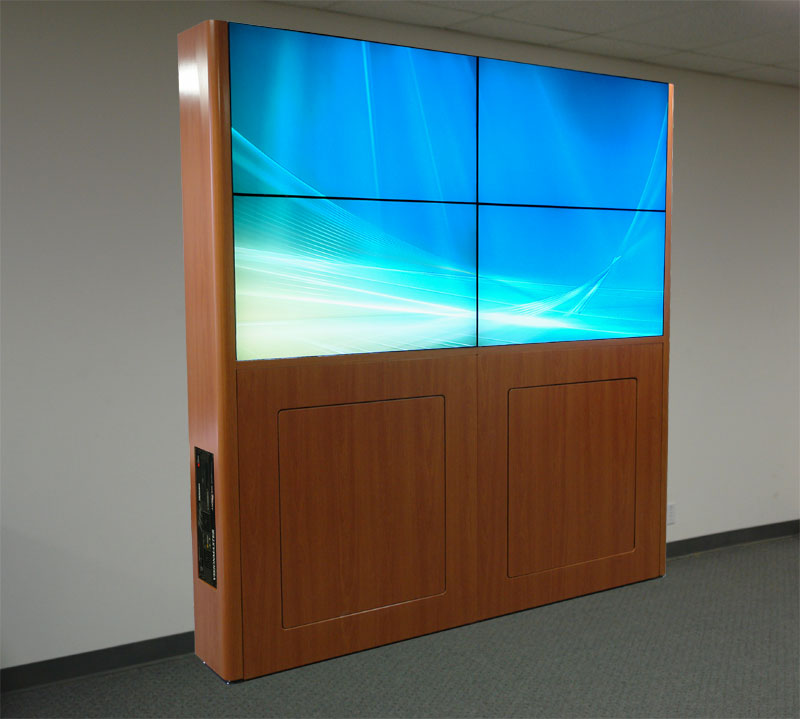 Visionmaster LCD Video Wall with Desktop Image