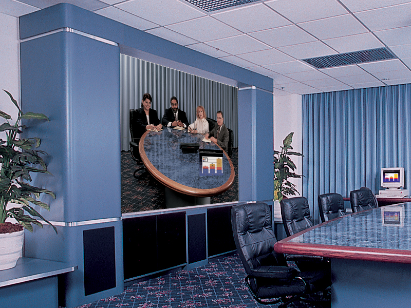 "Multi-purpose Conference Room / 70"" DLP Video Wall"